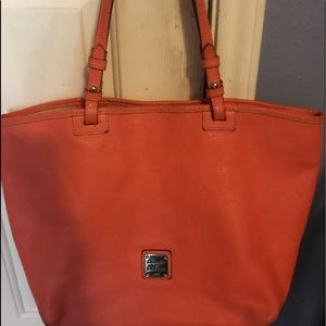 Dooney & Bourke Coral Large Leather Tote